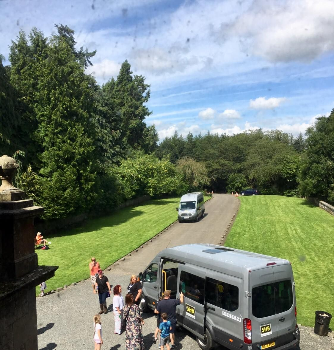 Buses-Driveway