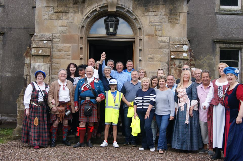 Volunteer Get Together at Bannockburn House