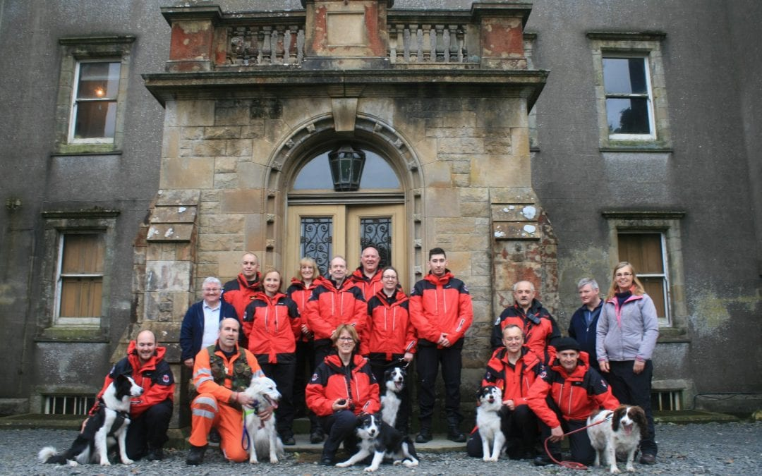 Trossachs Search & Rescue Visit