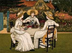 Come To Our Victorian Garden Party