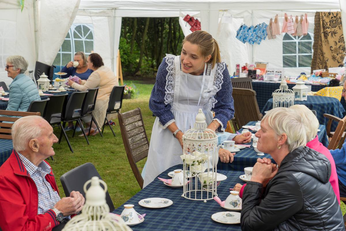 victorian garden party